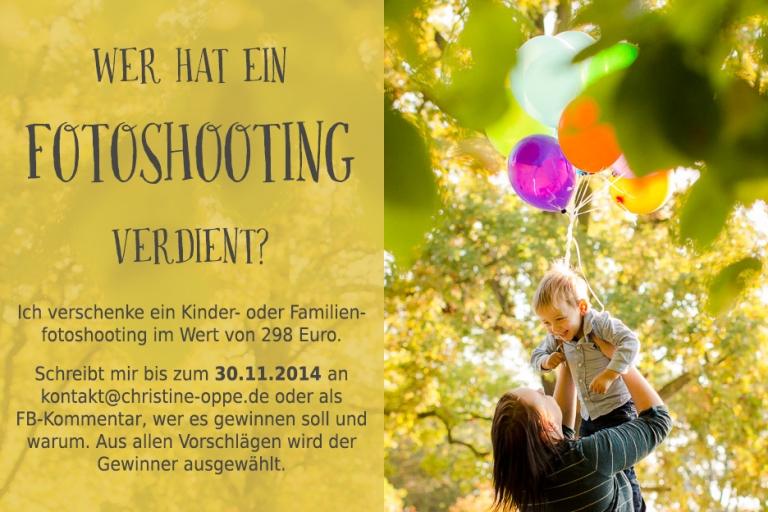 Familienfotoshooting oder Kinderfotoshooting zu gewinnen - Potsdam und Berlin, Christine Oppe Fotografie