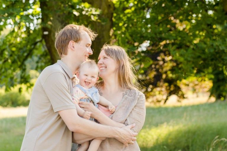 Lebendige Familienfotos im Grünen für Berlin und Potsdam